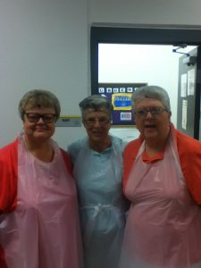 Open Door Missions - Serving Breakfast - July 8, 2016